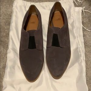 Gray Loafers